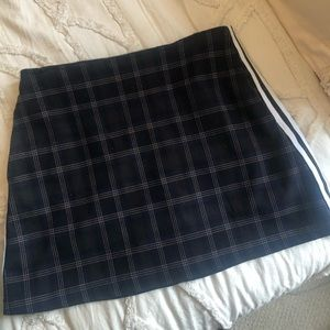 Urban Outfitters Plaid Mini Skirt